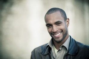 homme sourire